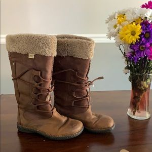 UGG leather 1639 tall boots